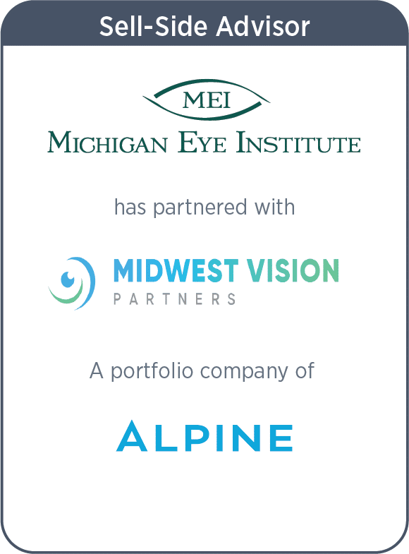 Michigan Eye Institute Has Merged with Midwest Vision Partners