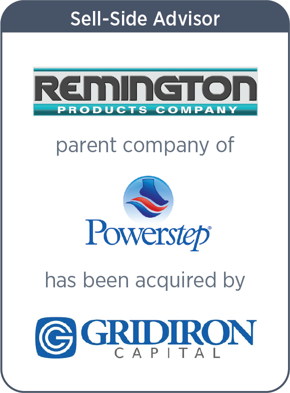 Remington Products Company Acquired by Gridiron Capital