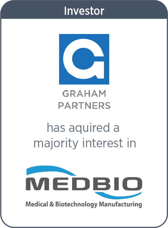 Graham Partners has acquired a majority interest in MedBio, Inc.