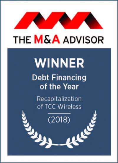 Deal Financing of the Year 2018