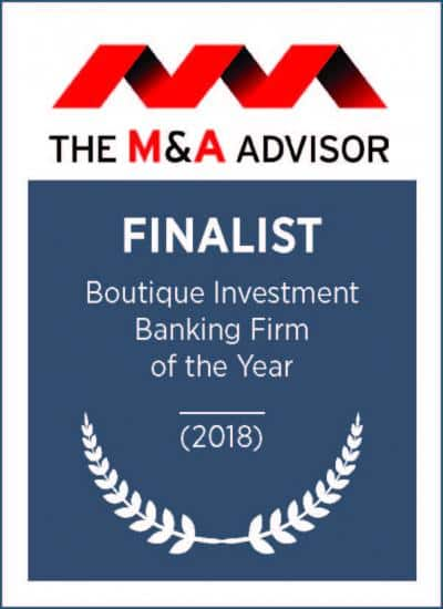 Boutique Investment Banking Firm of the Year 2018