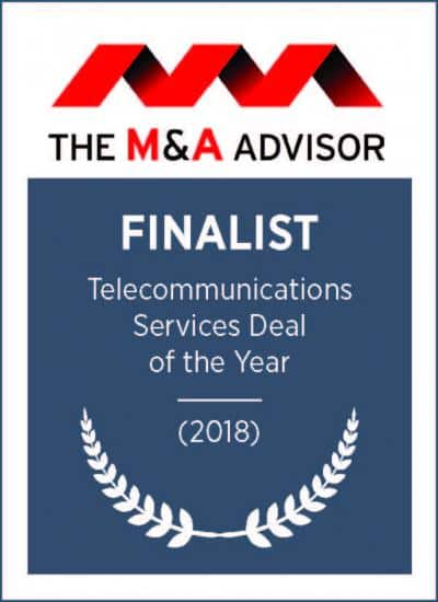 Telecommunications Services Deal of the Year 2018