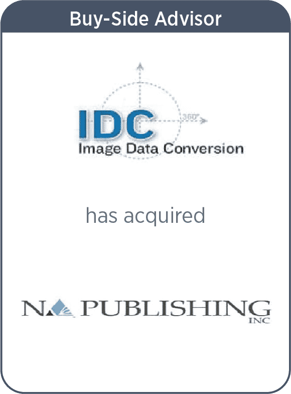 IDC Has Acquired NA Publishing