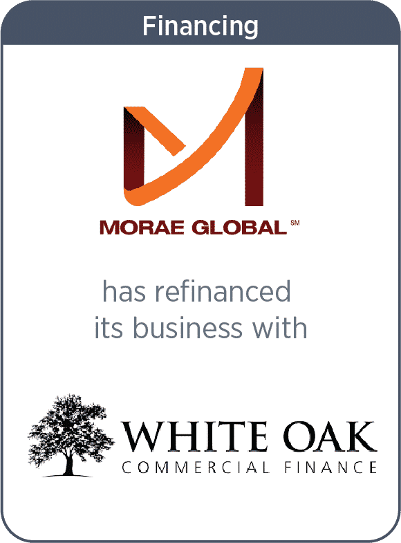Morae Global has refinanced its business with White Oak Commercial Finance