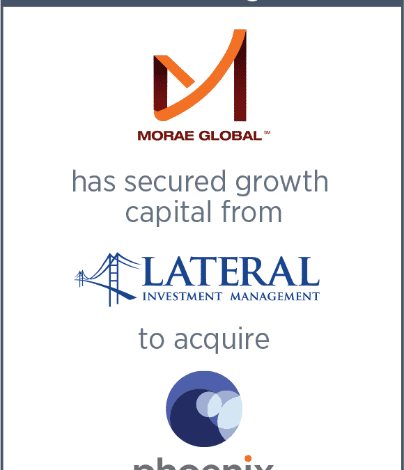 Morae Global Secured Growth Capital From Lateral Capital Management