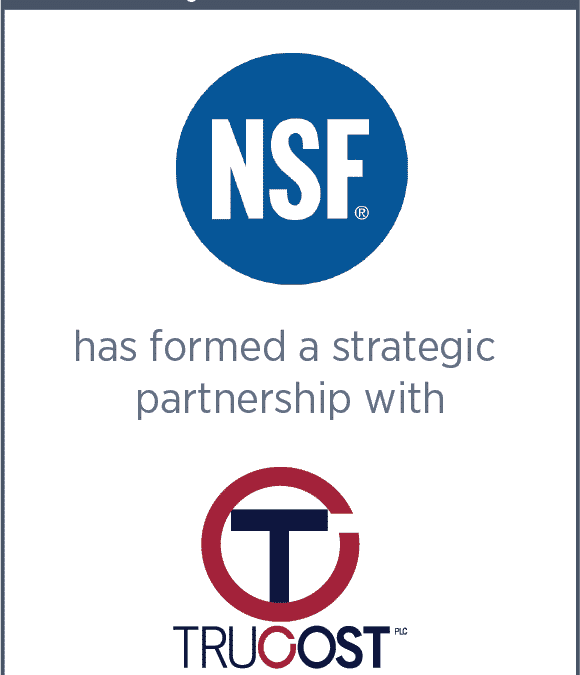 NSF Has Formed A Strategic Partnership With Trucost