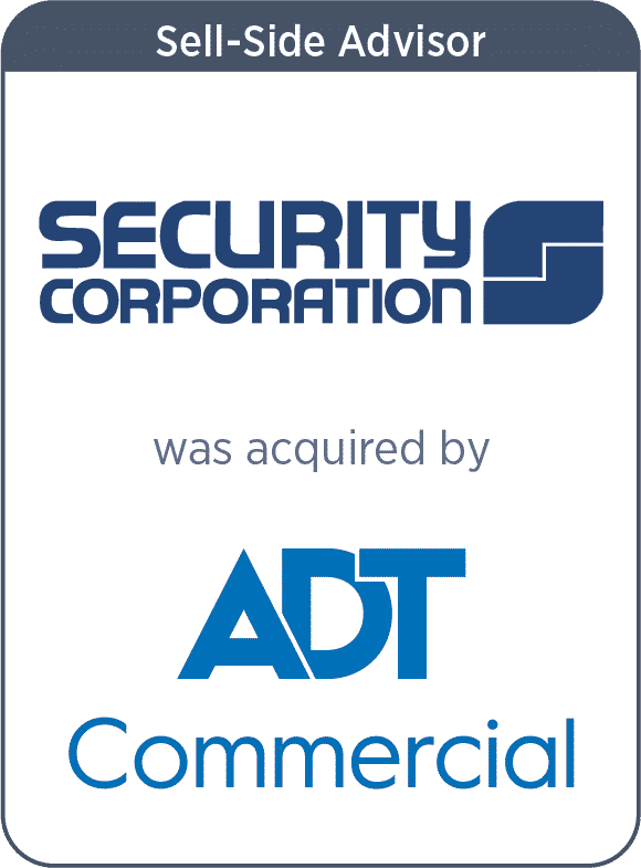 Security Corporation Acquired by ADT Commercial