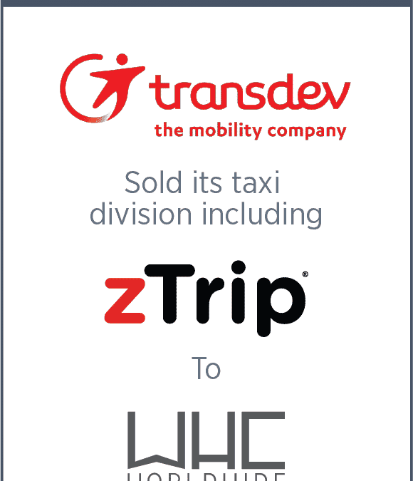 Transdev Sells Assets Including zTrip to WHC Worldwide
