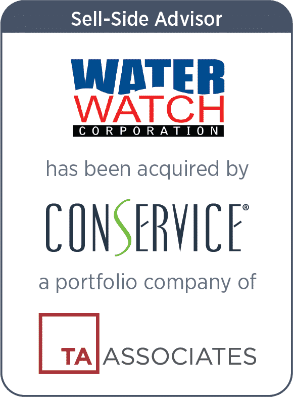 Waterwatch Corporation Acquired by Conservice