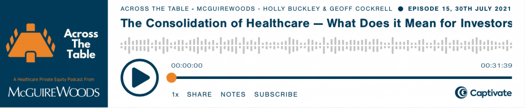 across the table a healthcare private equity podcast