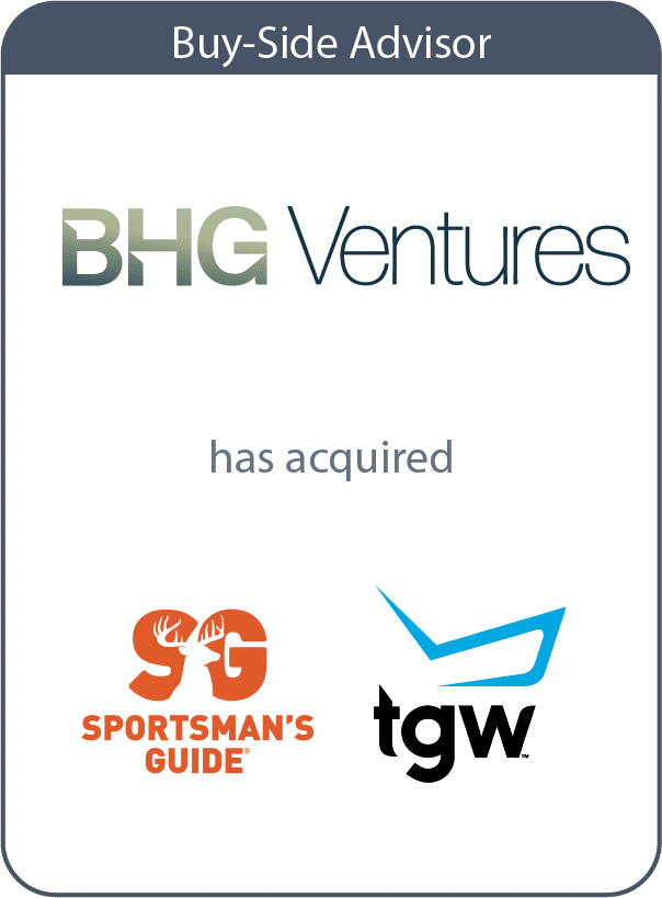 bhg ventures has acquired sportsmans guide and the golf warehouse