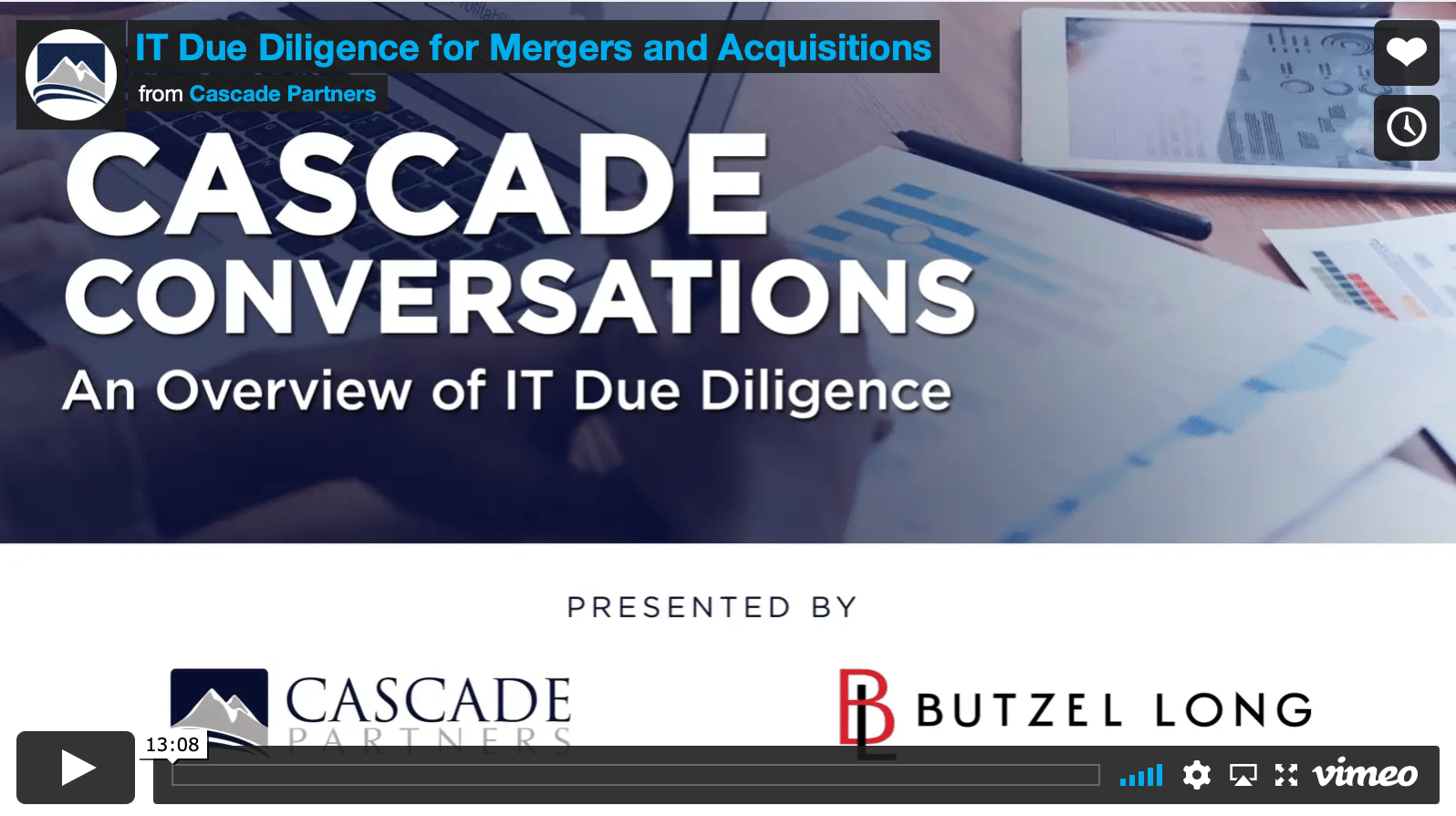 IT due diligence for mergers and acquisitions