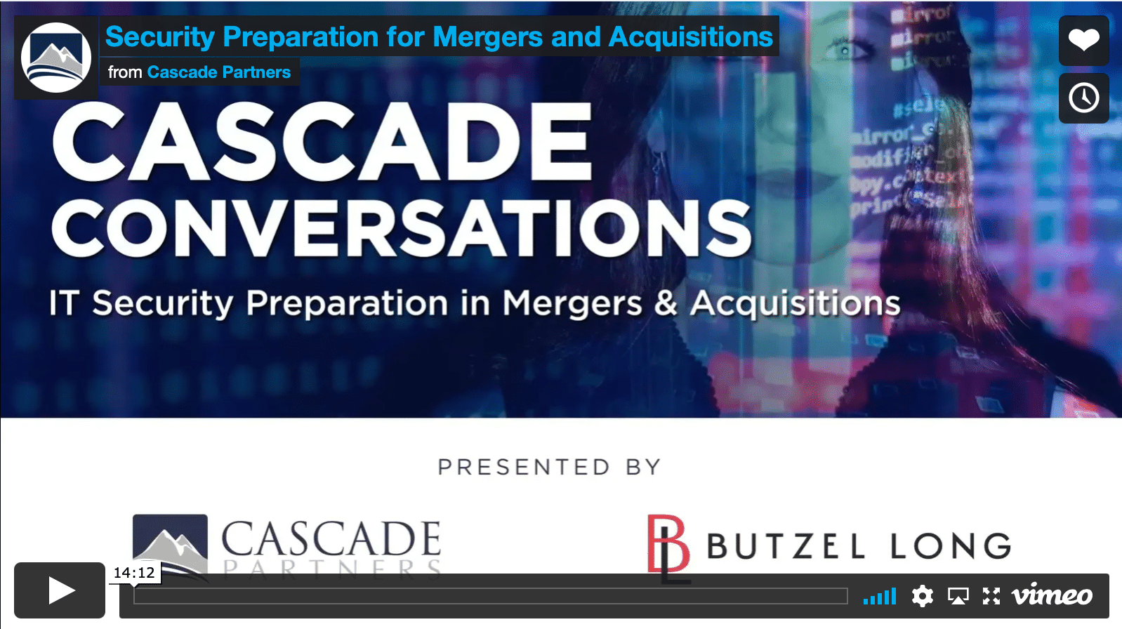 security prep for mergers and acquisitions