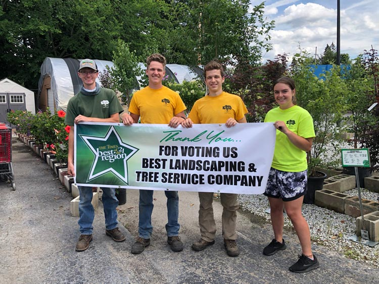 R.A.L Landscaping Voted Best of Region